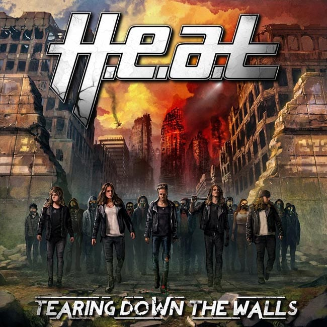 HEAT - Tearing Down The Walls